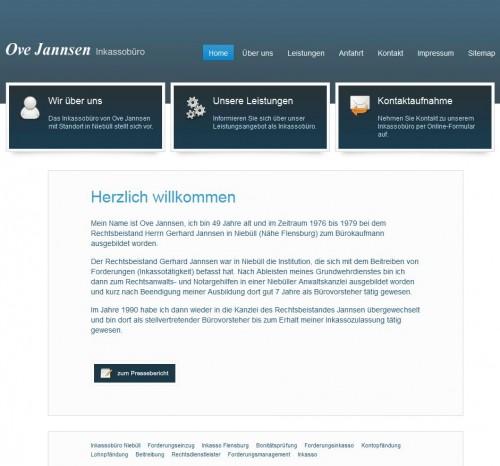 Firmenprofil von: Inkasso in Niebüll: Inkassobüro Ove Jannsen