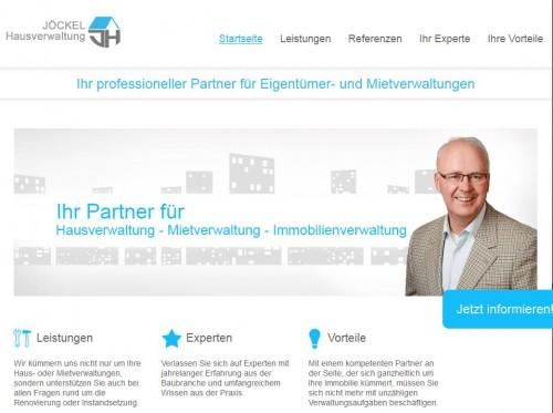 Firmenprofil von: Jöckel Hausverwaltung: Immobilien in Essen in guten Händen