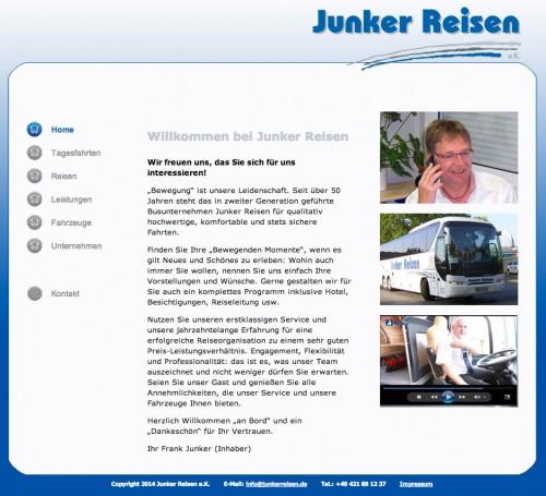 Firmenprofil von: Junker Reisen e.K. in Stuhr