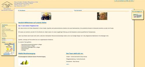 Firmenprofil von: Pflegedienst Burckardt und Kampa in Köln