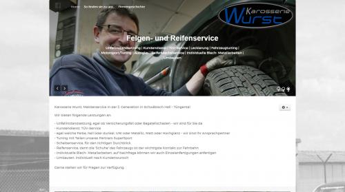 Firmenprofil von: Professioneller Kfz-Service in Tüngental: Karosserie Wurst