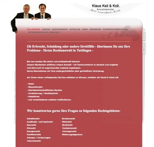 Firmenprofil von: Experte im Strafrecht: Kanzlei Keil & Kollege in Tuttlingen