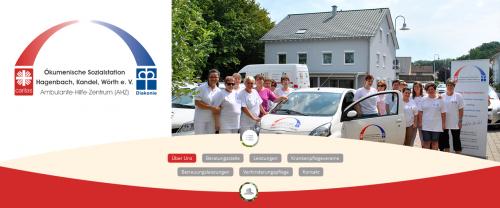 Firmenprofil von: Pflegedienst in Wörth: Ökumenische Sozialstation Hagenbach, Kandel, Wörth e. V.
