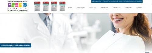 Firmenprofil von: Effektive Zahnkorrektur für ein schönes Lächeln - Kieferorthopädische Praxis Schwerbrock in Neuburg und Ingolstadt