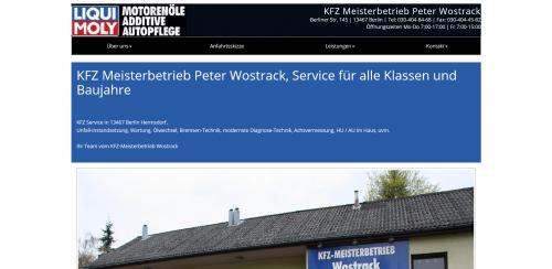 Firmenprofil von: Ihr Auto-Service in Berlin: Kfz-Meisterbetrieb Peter Wostrack