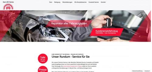 Firmenprofil von: Grun's Kfz-Service ist Ihr Partner rund um den Unfall