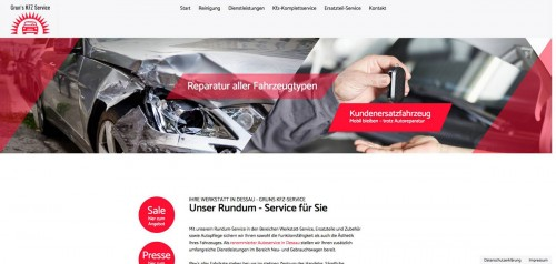 Firmenprofil von: Auto-Lackiererei in Dessau: Grun's Kfz-Service