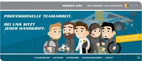 Firmenprofil von: Rüdiger Apel – Die Karosserie- und Lackexperten in Breitenbach nahe Duderstadt