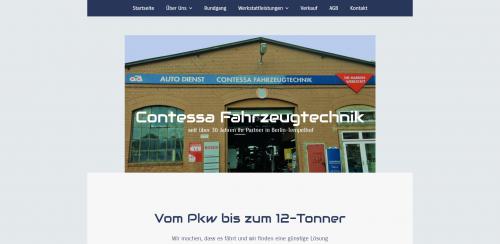 Firmenprofil von: Ihre zuverlässige Kfz-Werkstatt in Berlin: Contessa Fahrzeugtechnik GmbH