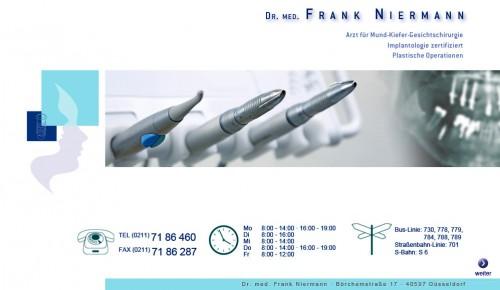 Firmenprofil von: Implantologie in Düsseldorf: Dr. med. Frank Niermann