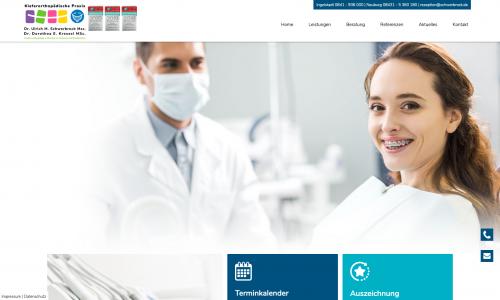 Firmenprofil von: Kiefergelenkserkrankungen bei Kindern: Kieferorthopädische Fachpraxis Dr. Ulrich M. Schwerbrock MSc.