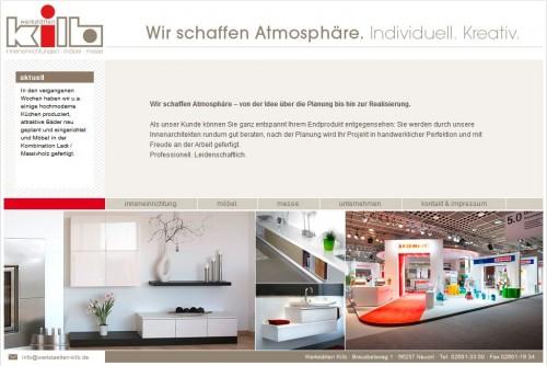 Firmenprofil von: Schreinerei Werkstätten KILB GmbH in Nauort