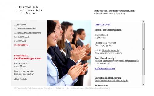 Firmenprofil von: Übersetzungen in Neuss: Kimm Fachübersetzungen