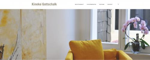 Firmenprofil von: Steuerrecht in Wuppertal: Kineke Gottschalk StB/RA