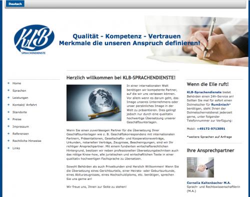 Firmenprofil von: KLB Sprachendienste - Juristische Fachübersetzungen und Dolmetscherdienste