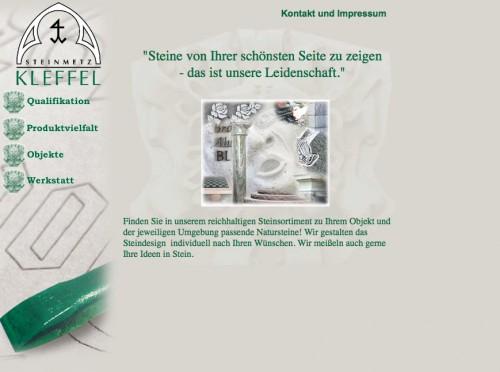 Firmenprofil von: Kleffel-Natursteine, Michael und Werner Kleffel GbR in Sangerhausen