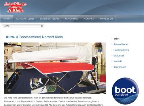 Firmenprofil von: Auto- und Bootssattlerei Norbert Klein in Bochum