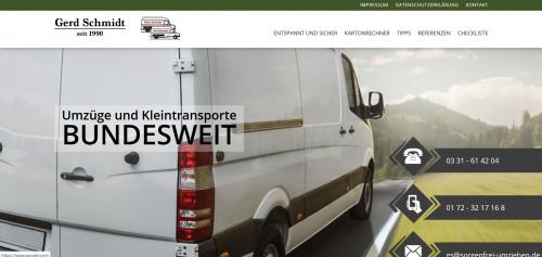 Firmenprofil von: Ihr Unternehmen für Kleintransporte: Gerd Schmidt und Team aus Potsdam