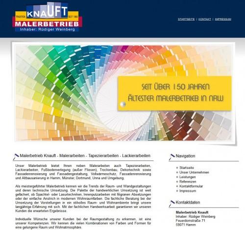 Firmenprofil von: Malerbetrieb Knauft in Hamm