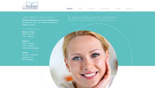 Firmenprofil von: Gemeinschaftspraxis Dr. Bastian Kobes und Dr. Heidi Kobes  – Zahnarzt und Zahntechniker in Augsburg