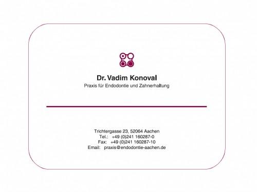 Firmenprofil von: Praxis für Endodontie und Zahnerhaltung Dr. Vadim Konoval in Aachen
