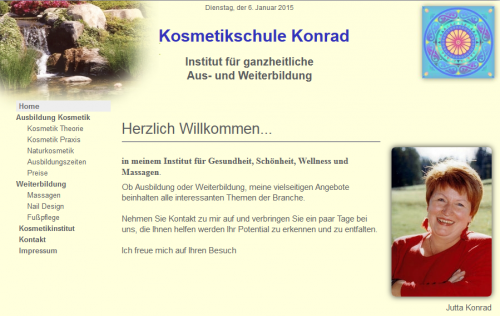 Firmenprofil von: Kosmetikschule Konrad in Augsburg