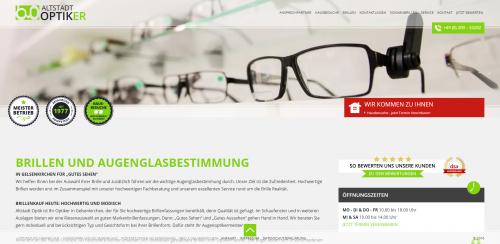 Firmenprofil von: Ihr Partner für Kontaktlinsen in Gelsenkirchen: Altstadt Optik