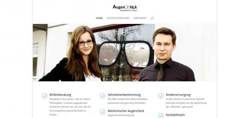 Firmenprofil von: Hier finden Sie Ihre neue Brille in Halbe: Optiker Augentick