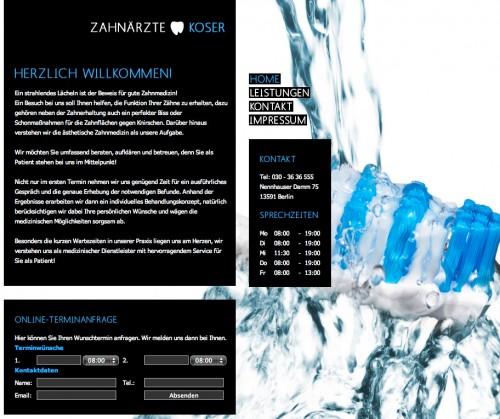 Firmenprofil von: Zahnärzte Koser in Berlin