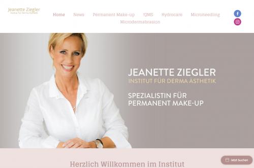 Firmenprofil von: Mikrodermabrasion und Permanent Make-up in Berlin: Jeanette Ziegler