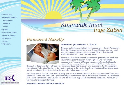 Firmenprofil von: Kosmetik-Insel in Freiburg