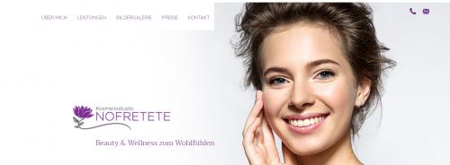 Firmenprofil von: Ihre professionelle Kosmetikerin in Oberhausen – Kosmetikstudio Nofretete