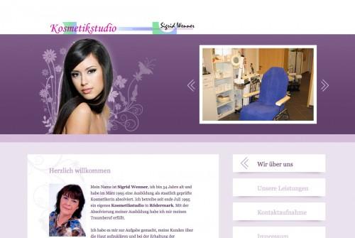 Firmenprofil von: Kosmetikstudio Wenner in Rödermark