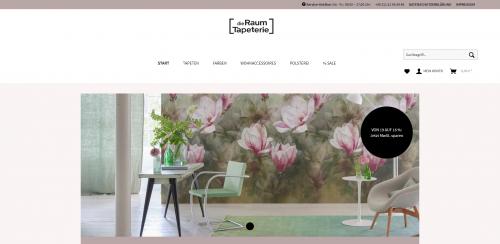 Firmenprofil von: Natürlich schöne Tapeten – mit floralen Mustern der Raumtapeterie