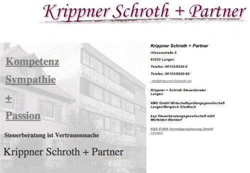Firmenprofil von: Krippner Schroth + Partner, Steuerberaterkanzlei in Langen