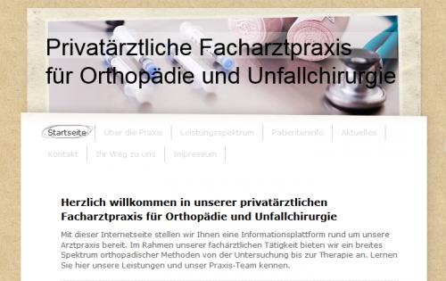 Firmenprofil von: Dr. Krüger: Facharzt für Orthopädie und Unfallchirurgie in Wolfratshausen
