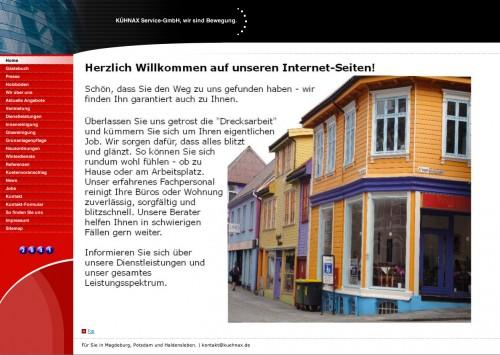 Firmenprofil von: Glas- und Gebäudereinigung KÜHNAX Service-GmbH in Magdeburg