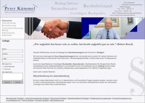 Firmenprofil von: Peter Kümmel Steuerberatungskanzlei – Lebensberatung für Unternehmen und Privatpersonen