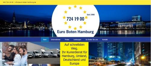 Firmenprofil von: Verlässlicher Kurierservice – Euro-Boten Hamburg