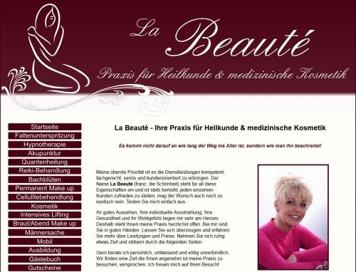 Firmenprofil von: Praxis für Heilkunde und medizinische Kosmetik La Beauté - Permanent Make-up in Magdeburg