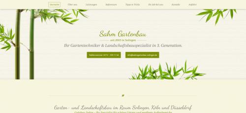 Firmenprofil von: Sie suchen einen fähigen Gärtner in und um Solingen? Sie haben ihn gefunden