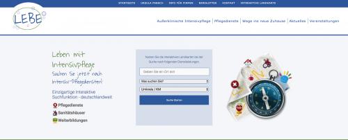 Firmenprofil von: Das Intensivpflegeportal: Leben mit der Intensivpflege