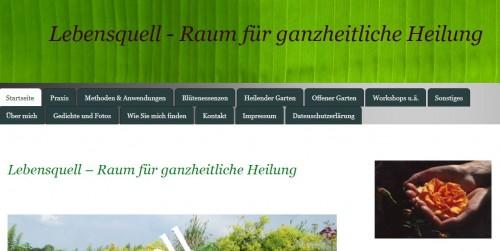 Firmenprofil von: Ihre Naturheilpraxis Lebensquell in Balje im Landkreis Stade – Irmgard Biermann