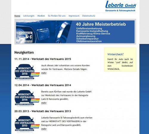 Firmenprofil von: Unfallreparatur in Augsburg: Leberle GmbH Karosserie und Fahrzeugtechnik