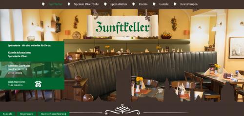 Firmenprofil von: Ihr Restaurant in Leipzig: Gaststätte Zunftkeller