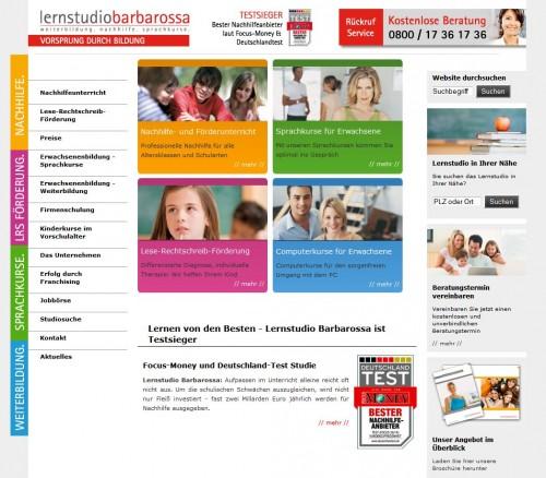 Firmenprofil von: Nachhilfeunterricht beim Lernstudio Barbarossa in Frankfurt