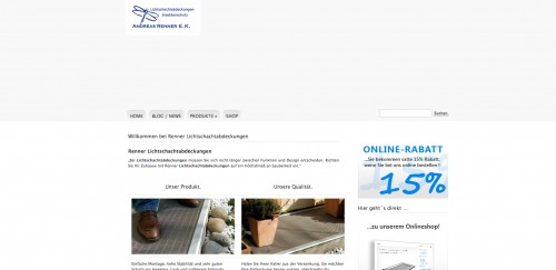 Firmenprofil von: Insektenschutz vom Fachmann: Lichtschachtabdeckungen Renner in Stuttgart