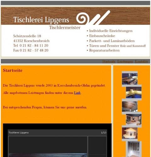Firmenprofil von: Tischlerei Lipgens in Korschenbroich
