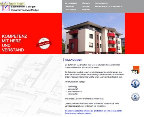 Firmenprofil von: Lochmann et Collegae Immobiliensachverständige für Berlin
