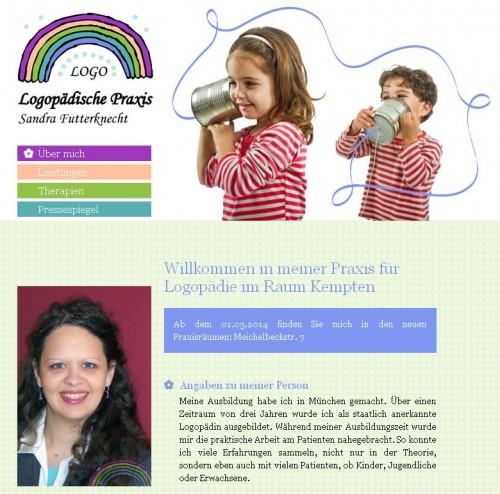 Firmenprofil von: Logopädische Praxis Sandra Futterknecht in Marktoberdorf: Lese- und Rechtschreibschwäche durch Logopädie entgegenwirken